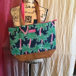 🆕🎁 NWTS 🎁 Simply Southern Palm Tree Tote Bag
